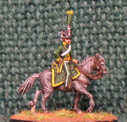 15mm, Napoleonic Chasseur Officer AB Figure