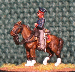 15mm, Napoleonic Prussian General #2 AB Figure