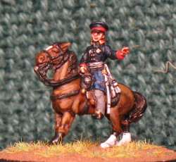 15mm, Napoleonic Prussian General #5 AB Figure