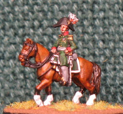 15mm, Napoleonic Russian Officer #1 AB Figure