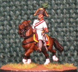 15mm, Napoleonic Austrian General #8 AB Figure