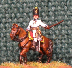 15mm, Napoleonic Austrian Regimental Officer 1809+ AB Figure