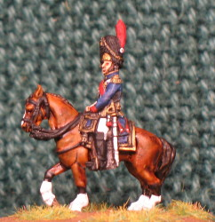 15mm, Napoleonic French Old Guard Senior Officer AB Figure