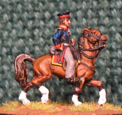 15mm, Napoleonic Prussian General #3 AB Figure