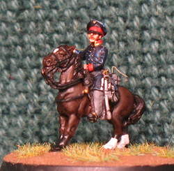 15mm, Napoleonic Prussian General #4 AB Figure